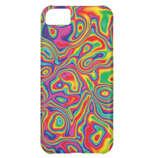 Psychedelic Rainbow Oil Pattern iPhone 5C Cover