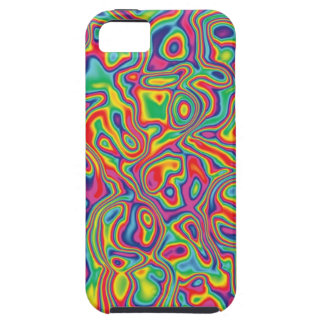 Psychedelic Rainbow Oil Pattern iPhone SE/5/5s Case