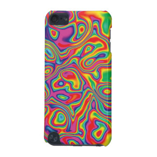 Psychedelic Rainbow Oil Pattern iPod Touch (5th Generation) Cover