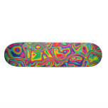 Psychedelic Rainbow Oil Pattern Skateboards