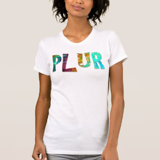 Psychedelic Rainbow PLUR Tee Shirt