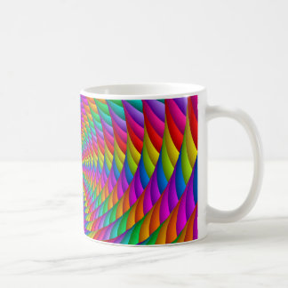 Psychedelic Rainbow Spiral Mug