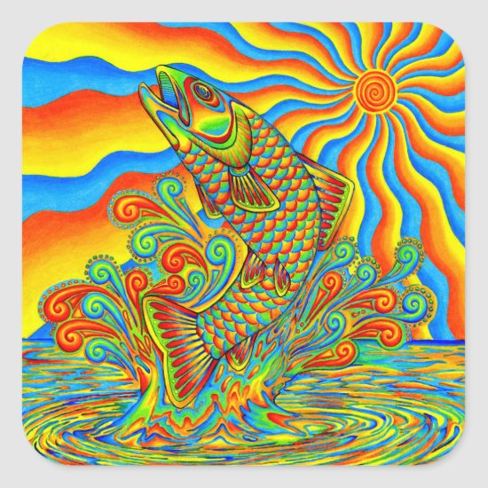 Psychedelic Rainbow Trout Collection