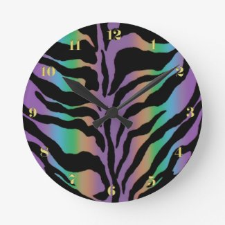 Psychedelic Rainbow Zebra Stripe Fun Collection