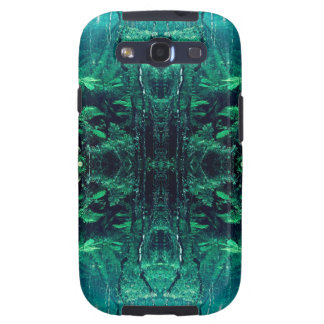 Psychedelic Rainforest Samsung Galaxy SIII Covers