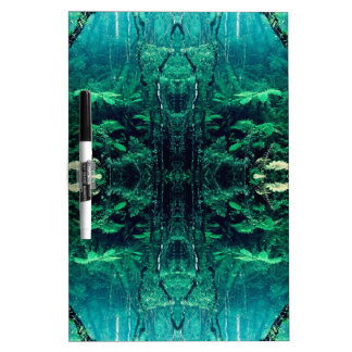 Psychedelic Rainforest Dry Erase Board