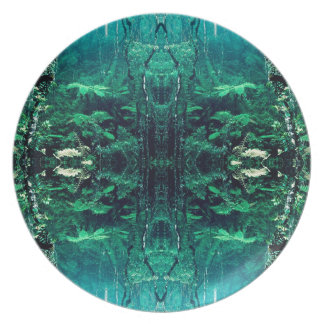 Psychedelic Rainforest Plate