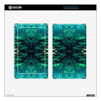 Psychedelic Rainforest Skins For Kindle Fire