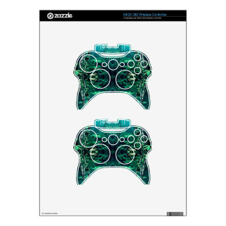 Psychedelic Rainforest Xbox 360 Controller Decal