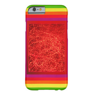 Psychedelic Red Barely There iPhone 6 Case