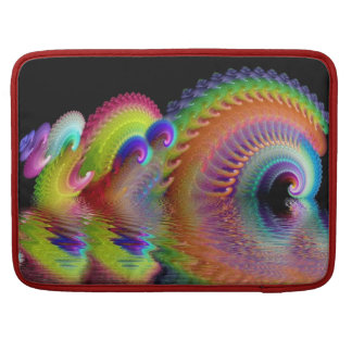 Psychedelic Reflections Sleeve For MacBooks