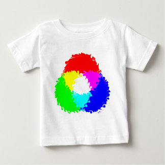Psychedelic RGB Color Model Baby T-Shirt