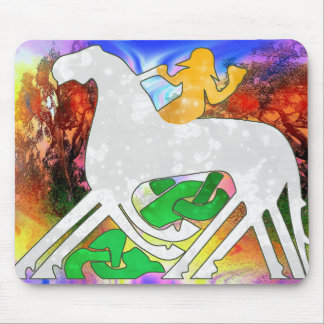 Psychedelic Rhiannon Mouse Pad