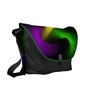 Psychedelic Rickshaw Large Messenger Bag