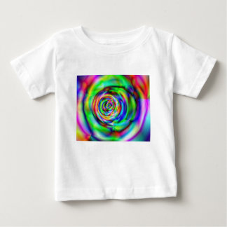 psychedelic rose baby T-Shirt