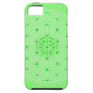 Psychedelic Sacred Geometry Heart Chakra Design iPhone SE/5/5s Case