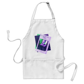 Psychedelic Shakespeare 1623 Adult Apron