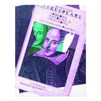 Psychedelic Shakespeare 1623 Letterhead