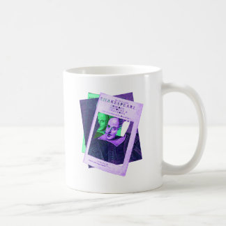 Psychedelic Shakespeare 1623 Classic White Coffee Mug