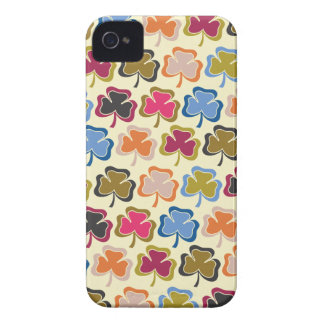Psychedelic Shamrock iPhone 4s Case iPhone 4 Case-Mate Cases