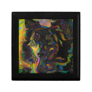 Psychedelic Shepherd Jewelry Box