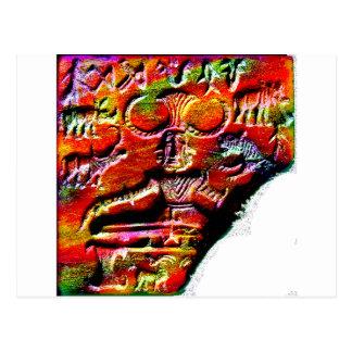 Psychedelic Shiva Pashupatinath Symbol Harappa f.p Postcard