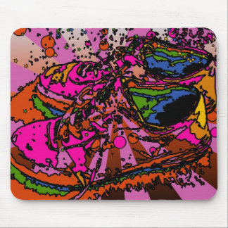 Psychedelic Shoes Mousepad