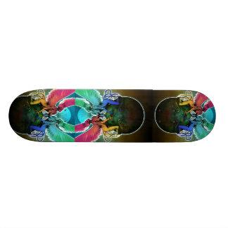 Psychedelic Siren Skateboard Deck