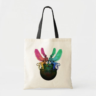 Psychedelic Siren Tote Bag