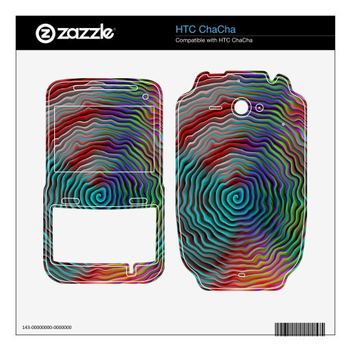 Psychedelic Decal For HTC ChaCha