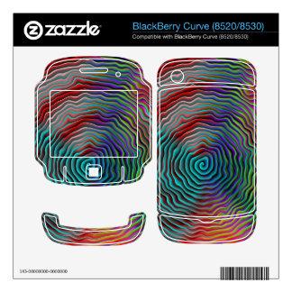 Psychedelic Skin For BlackBerry