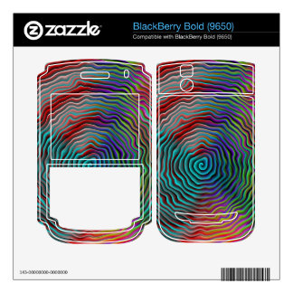 Psychedelic BlackBerry Decal