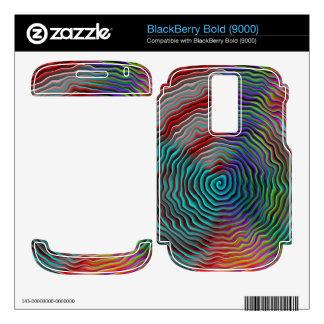 Psychedelic BlackBerry Bold Skins