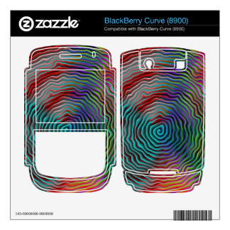 Psychedelic Decal For BlackBerry