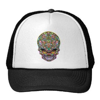 Psychedelic Skull Art Design Hat