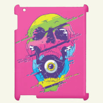 PSYCHEDELIC SKULL DESIGN CASE FOR THE iPad