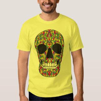 Psychedelic Skull Tees