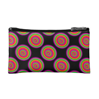 Psychedelic small pocket n°3 cosmetic bag