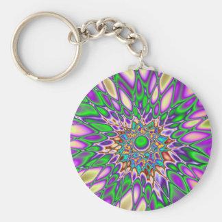 Psychedelic Smash Keychain