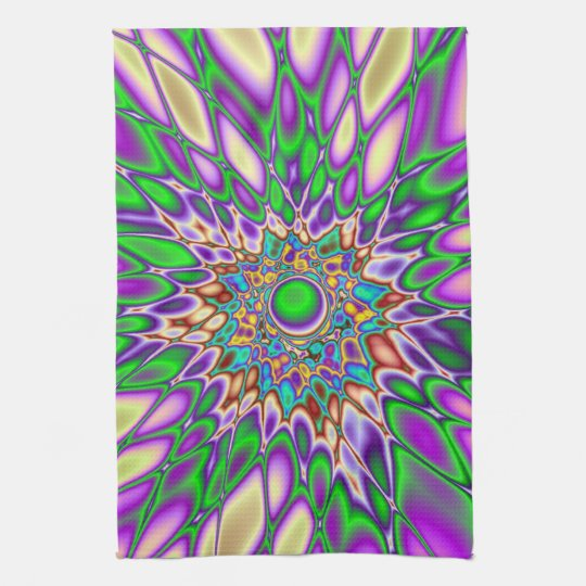 Psychedelic Smash Towels