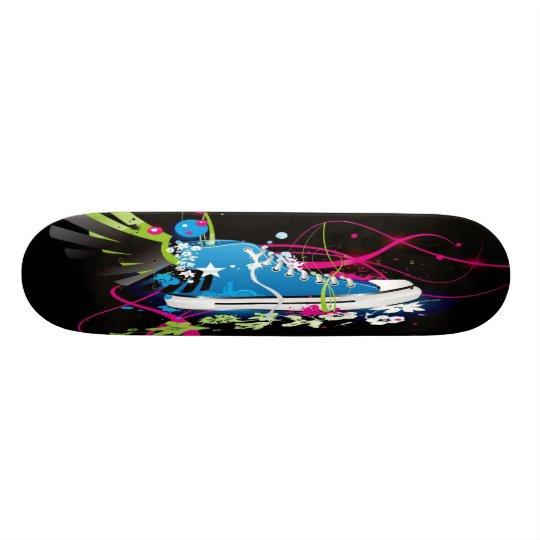 Psychedelic Sneaker Shoe Skateboard