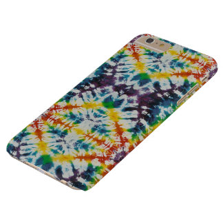Psychedelic Soul Tie Dye Retro Barely There iPhone 6 Plus Case