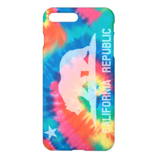 Psychedelic Soul Tie Dyed California Flag iPhone 8 Plus/7 Plus Case