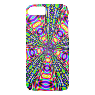 Psychedelic Space Portal iPhone 7 Case
