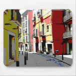 psychedelic Spain street photography Mousepads