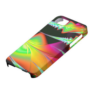 Psychedelic spear iPhone 5 case
