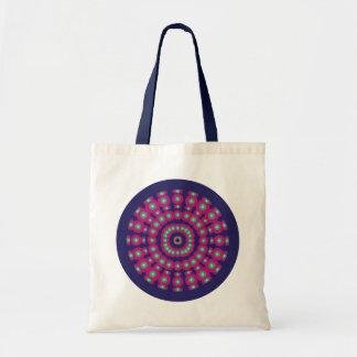 Psychedelic Spheres Dartboard Tote Bag