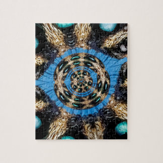 Psychedelic Spider Portal Jigsaw Puzzle