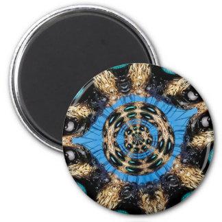 Psychedelic Spider Portal Magnet
