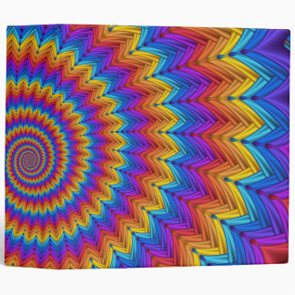 Psychedelic Spiral Binder